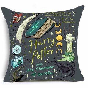 Harry Potter Throw Pillow Covers Home Decor